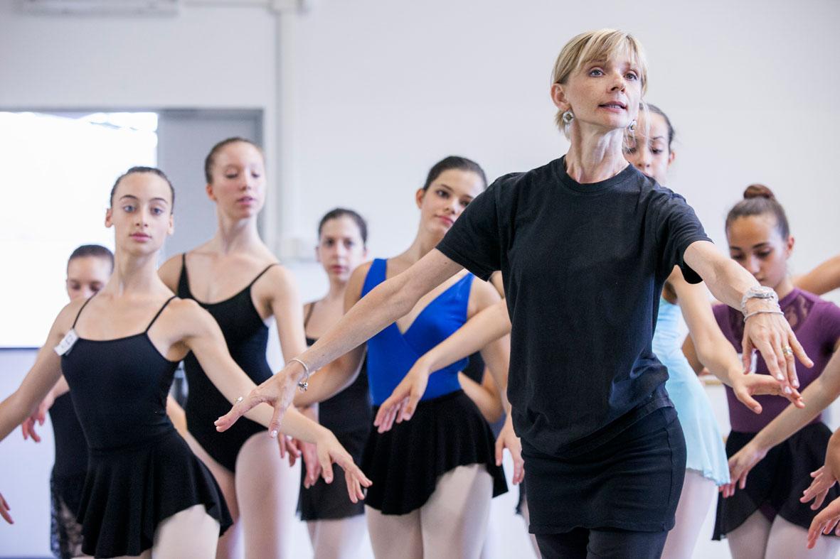 Una settimana alla Scuola di danza del Balletto di Roma