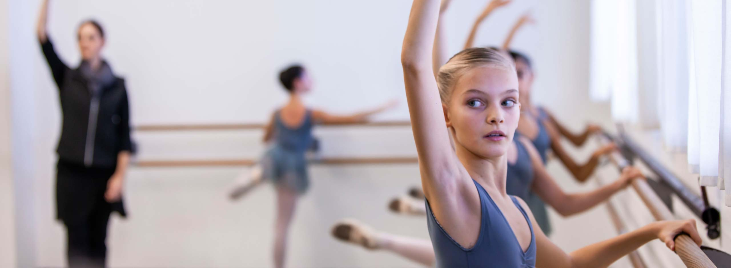 Auditions for admission to the School of Dance