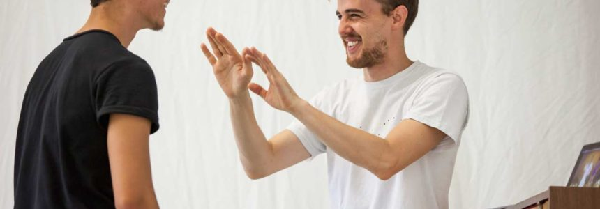 Marco D'Agostin al Balletto di Roma per Prove d'Autore XL