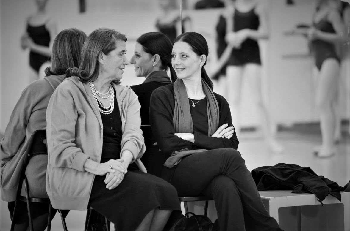 Direttrice Paola Jorio con Diana Tavernier