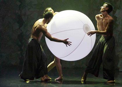 Futura, dancing with Lucio