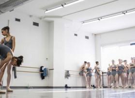 Audizioni per l'ammissione alla Scuola di Danza