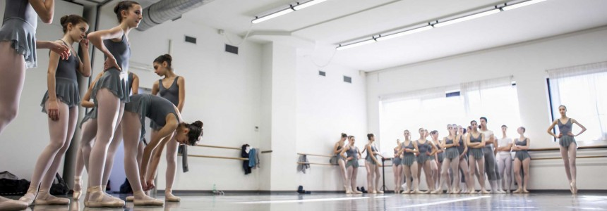 Stage Auditions for admission to the School of Dance