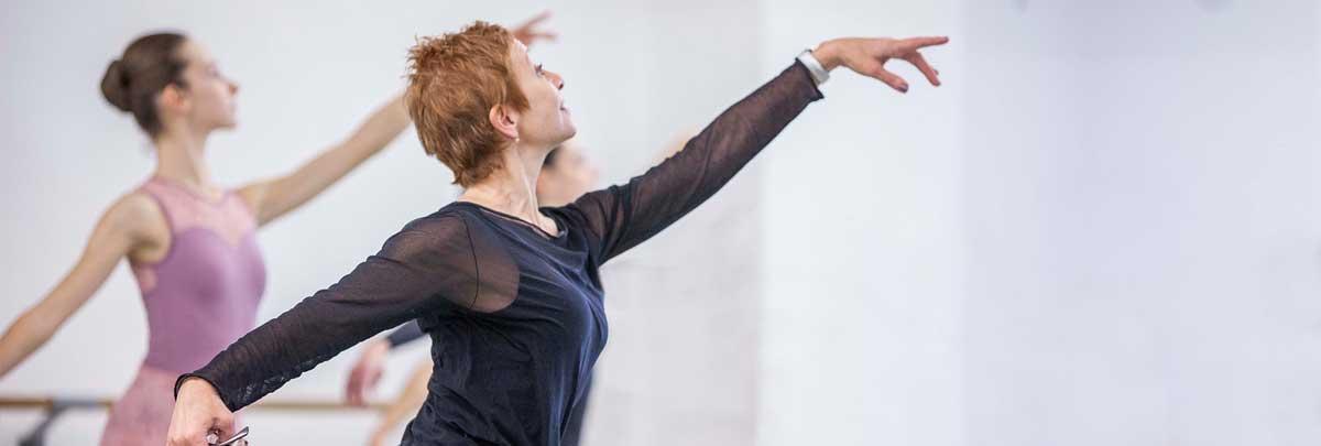 Stage di danza classica con Christiane Marchant